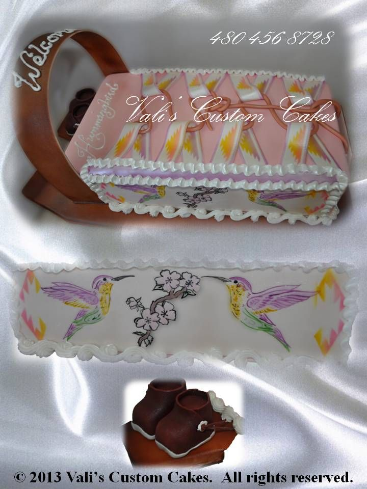 Navajo Cradle Board Cake Quot Celebrating The Gift Of Life