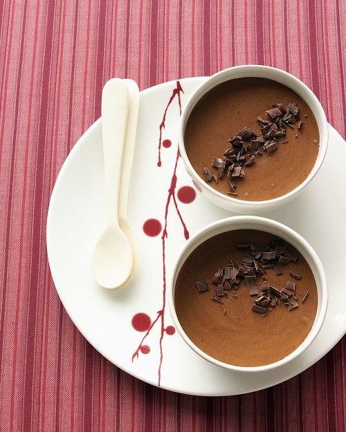 Bittersweet Chocolate Mousse - Martha Stewart Recipes