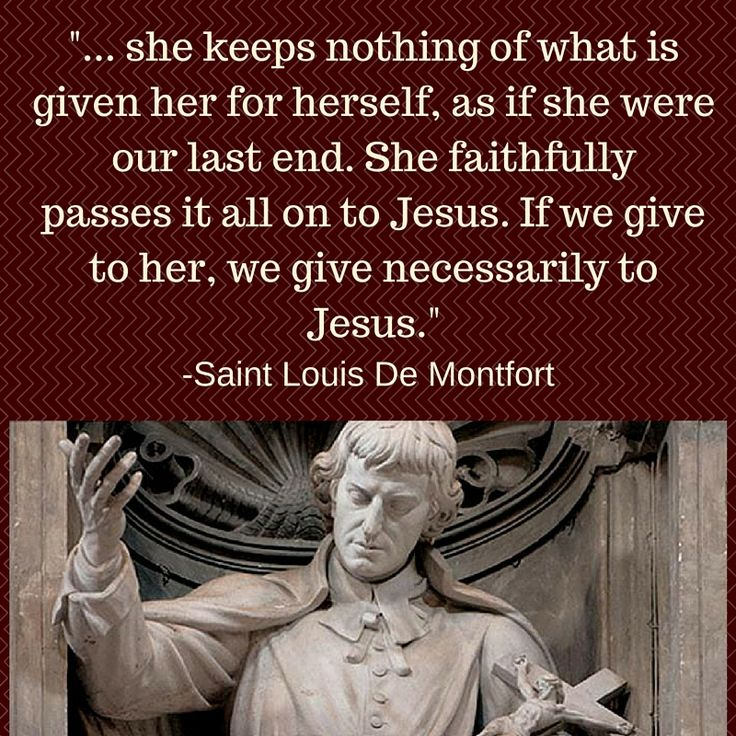 "A small portion of a meditation by Saint Louis De Montfort from my book ""Behold Thy Mother an English/Latin Scriptural Rosary."" Check it out at: www.beholdthymother.com"