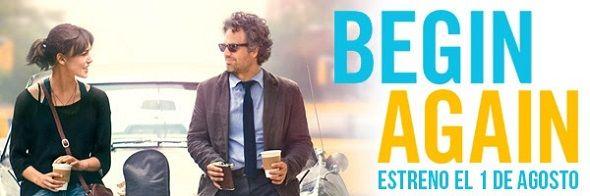 'Begin Again' de John Carney adelanta su estreno al 1 de agosto
