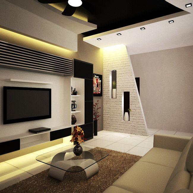 Pin by dilip rana on beda pinterest tv units for Interior design ideas living room with tv