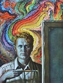 Self portrait by Vladimir Tretchikoff