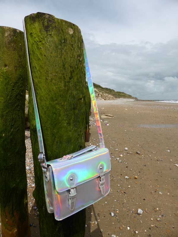 Holographic satchel from ASOS. Find out more at http://wightcatwalk.co.uk/space-bag/