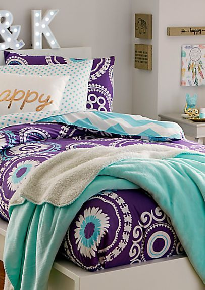 Twin - Boho Chevron 5-Piece Comforter Set   rue21