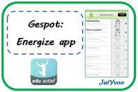 ©JufYvon: Gespot: Energize app