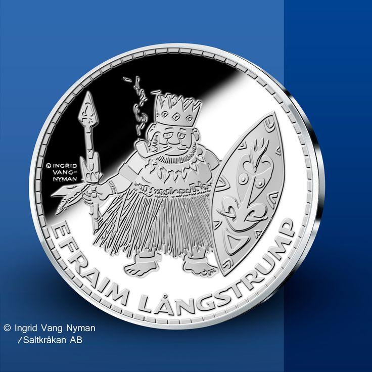 Efraim Långstrump - Pippi Långstrump Silvermedaljer