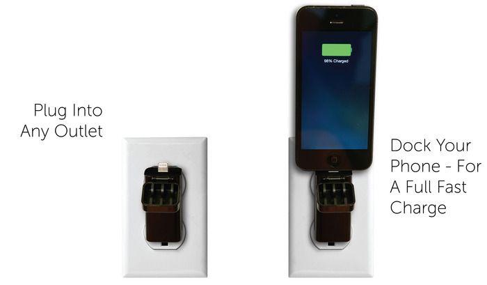 TravelBuddy.The World's Smallest Fastest Smartphone Charger! by Go Design — Kickstarter