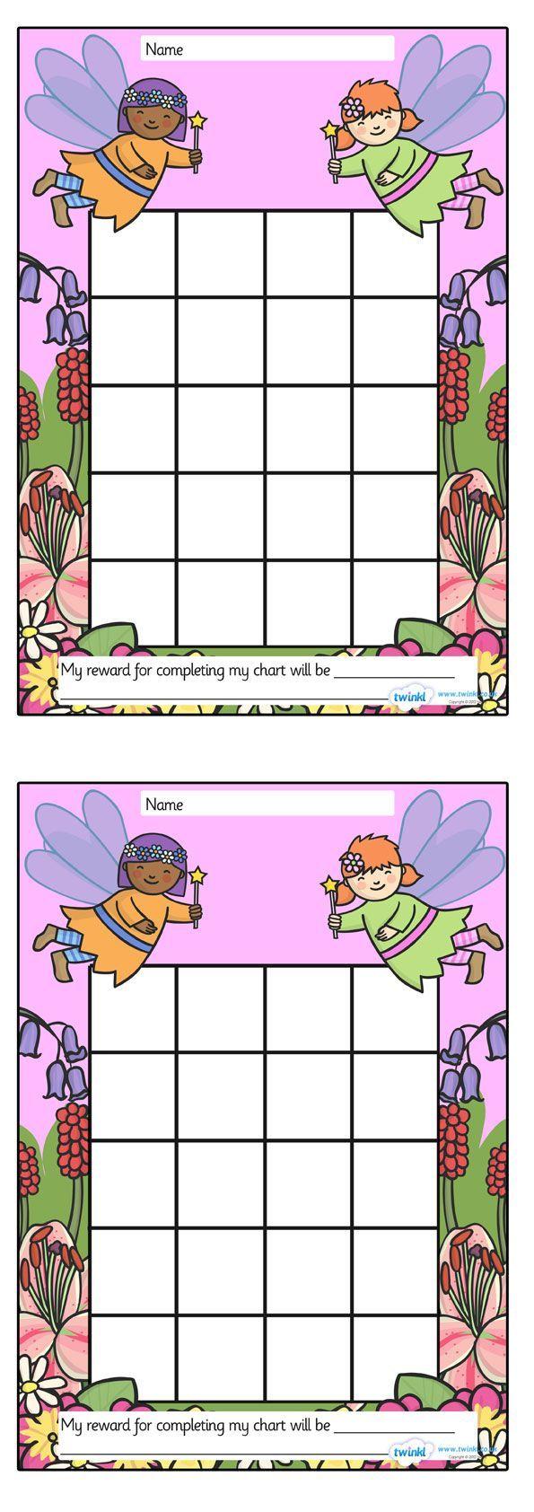 beloningskaart fairy tales