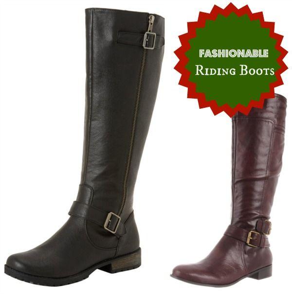 Fashionable Christmas-Riding Boots