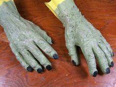 Etsy Dark Team: DIY Monster Gloves For Halloween