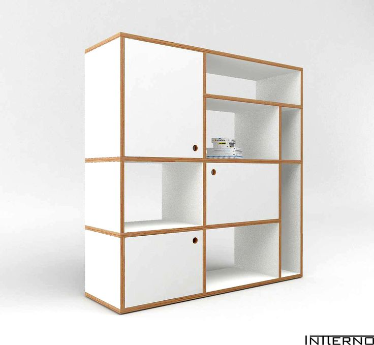 regał na książki ze sklejki, szafka ze sklejki Intterno plywood furniture, meble ze sklejki #intterno #plywoodbookstand