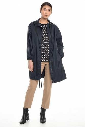 Prezzi e Sconti: #Giacca tecnica con cappuccio Blu marino  ad Euro 148.00 in #Parka #Cappotti e giacche impermeabili