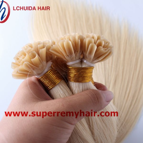 U tip hair 8A grade 100% human hair extensions 12-30 inch light color – Super Remy Hair