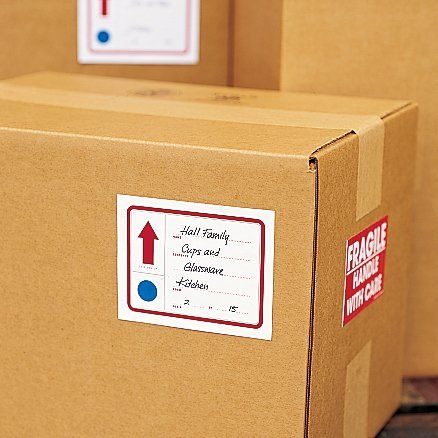 Free Printable Moving To-Do List and Box Labels
