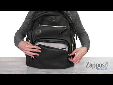 41bd37fafd5 Voyageur Carson Leather Backpack by Tumi at Zappos.com. Read Tumi ...