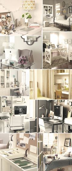 Best 25+ Bedroom office combo ideas on Pinterest | Spare room ...