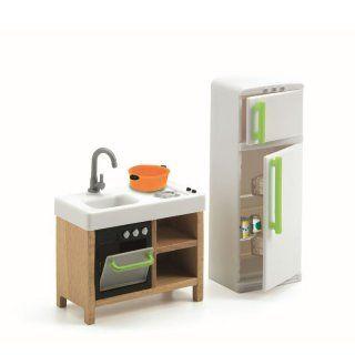 DJECO Puppenhaus   Kompakt Küche
