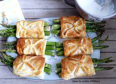 Dans la cuisine d'Hilary: Feuilletés aux asperges vertes, pancetta et parmesan pour Pâques / Asparagus, pancetta and parmesan puff pastry for Easter