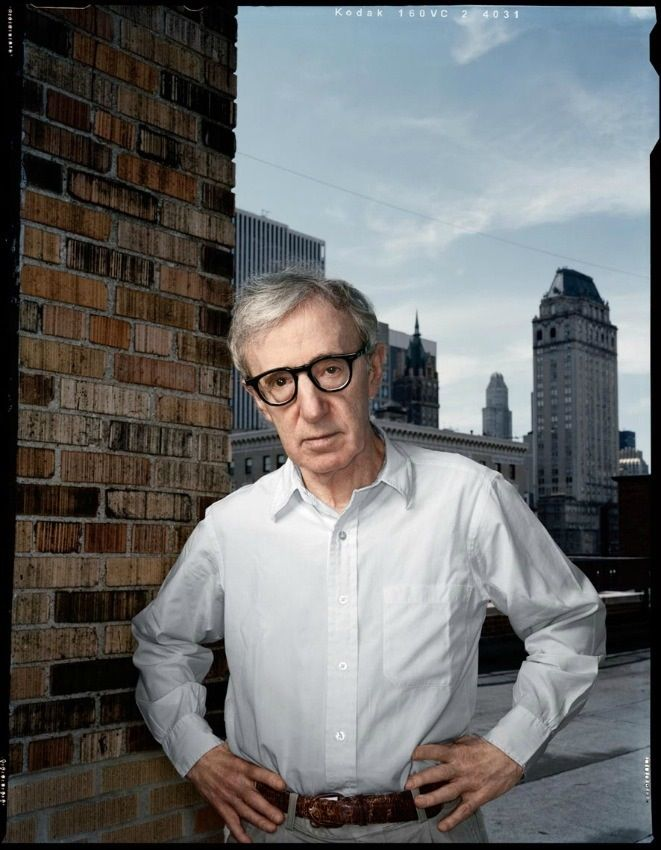 Woody Allen by Dan Winters. This is such a simple portrait, but so impeccably done. And fitting.