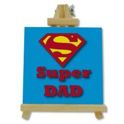 Azulejo con caballete - SUPER DAD