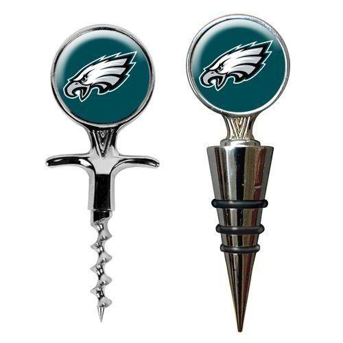 Philadelphia Eagles Cork and Bottle Holder