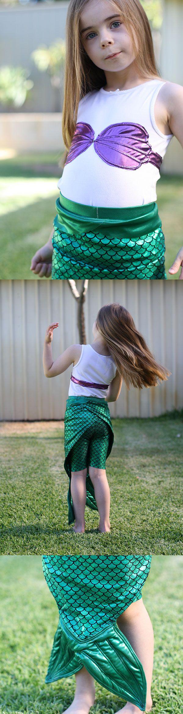 megan nielsen design diary: the little mermaid costume!