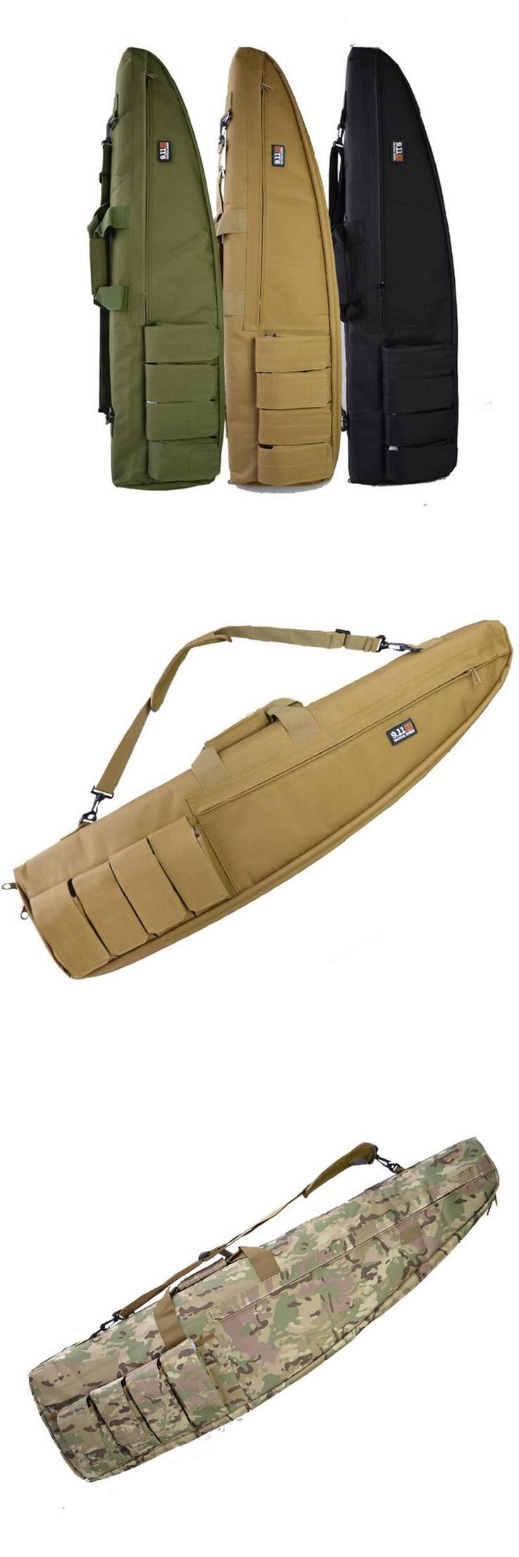 [Visit to Buy] 100/120/130CM Tactical Heavy Duty Tactical Gun slip Bevel Carry Bag Rifle Case Shoulder Pouch Hunting Bag #Advertisement