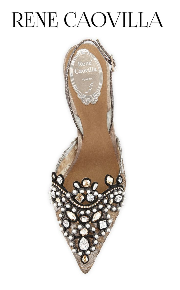 Fashion Shoes | ShoeAddict | Rosamaria G Frangini || Designer Rene Caovilla Shoes