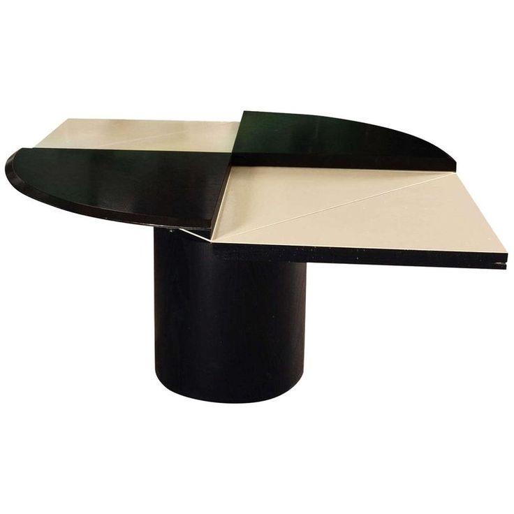 Erwin Nagel Esstisch / Esstisch – Multifunktionales Quadrondo Rosenthal Deutsches Modernes Mid-Century Holz – Products
