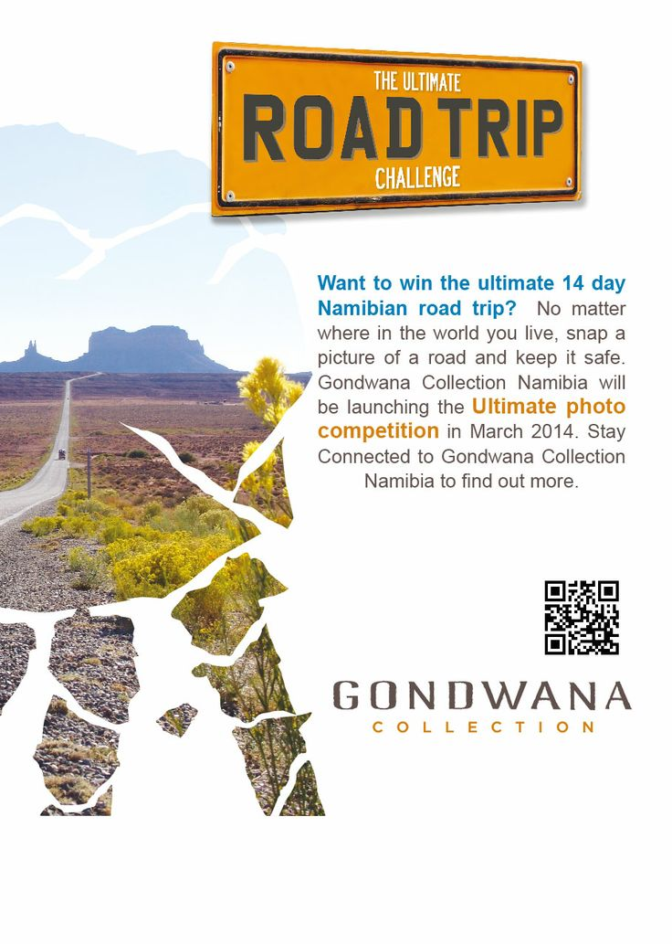 Want to win the ultimate 14 day Namibian road trip? Snap a picture of a road this holiday season and keep it safe. #namibia #roadtrip #competition