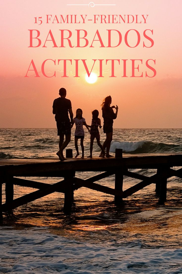 Barbados activities the whole family will enjoy!