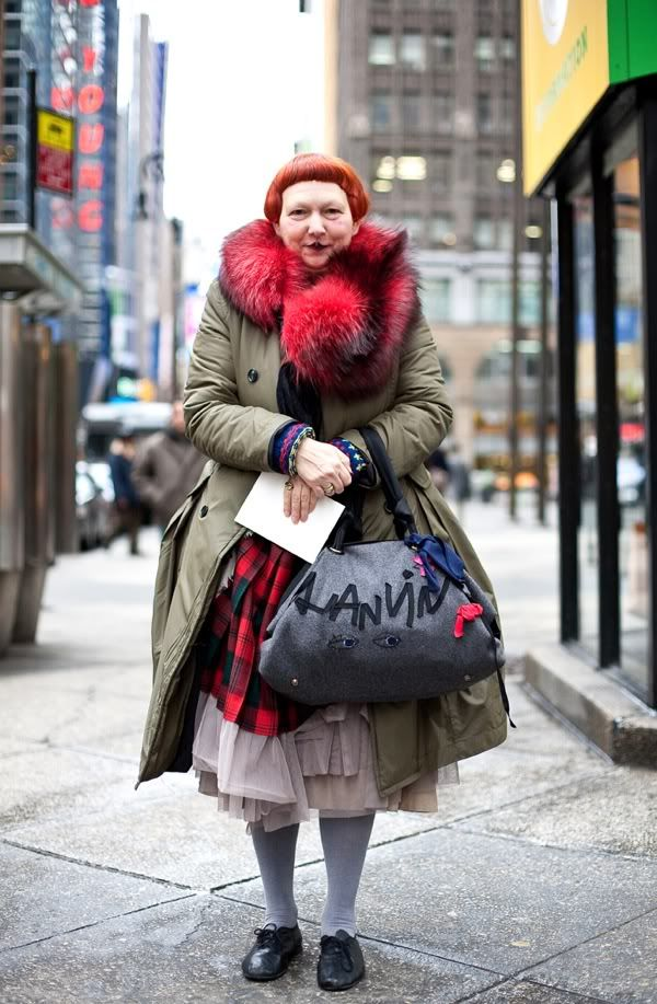 Lynn Yaeger i love her individuality when it comes to style