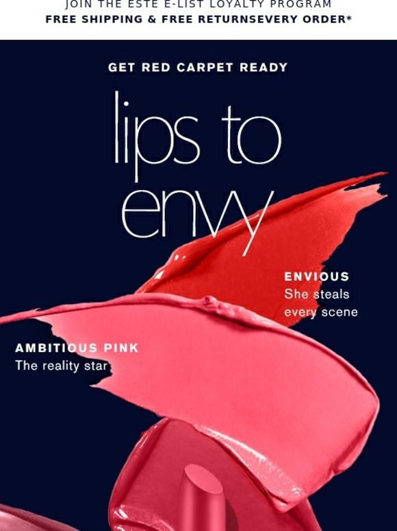 Red Carpet Ready? Be The Envy. - Estée Lauder