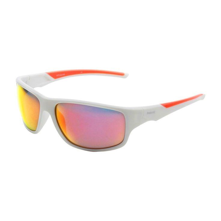 Polaroid Men Sunglasses White
