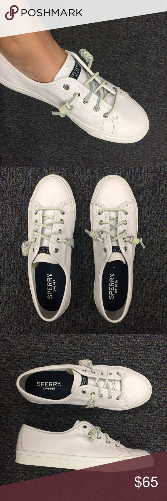 ☀️NWT ☀️ Sperry Boat Shoes ⛵️☀️ Brand new!! ☀️⛵️ Nail a nautical look in this women's shoe by Sperry. Luxurious leather keeps it completely comfy, and the classic silhouette is always on trend.😎 (no trades) Sperry Shoes