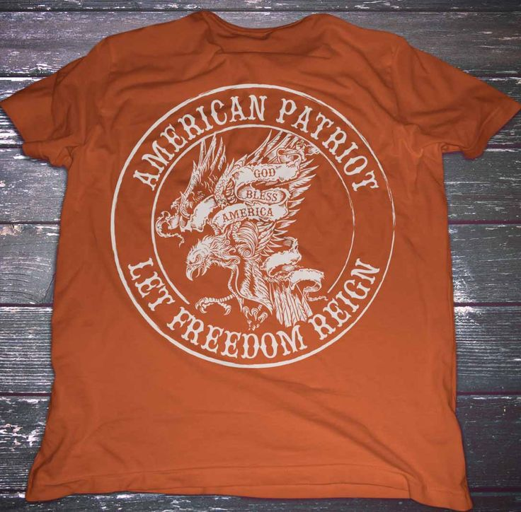 American Patriot. Let Freedom Reign (God Bless America). T-Shirt.  #2Ndammendment #9Mm #Defendthesecond #Donttreadonme #Igmilitia #Liberallogic #Libtards #Molonlabe #Sonsoflibertytees #Wethepeople