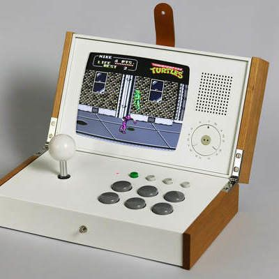 Love Hulténs Gives His Retro Gaming Console a Dieter Rams-Inspired Update – Cor…   – Arcade machine