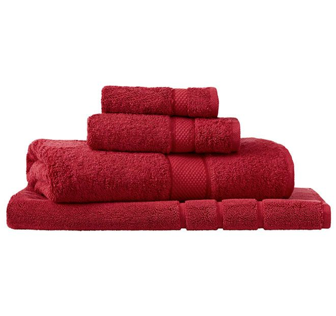 Sheridan Egyptian Luxury Bath Towel Scarlet