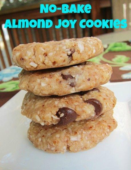 No-Bake Almond Joy Cookies - Carrots 'N' Cake