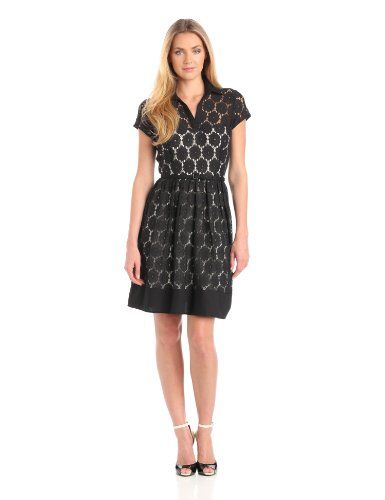 I think I like this dress Julian Taylor Women's Eyelet Fit And Flare Dress, Black, 14 Missy Julian Taylor,http://www.amazon.com/dp/B00ARFWAHY/ref=cm_sw_r_pi_dp_EEtksb0D4PXMNG5R