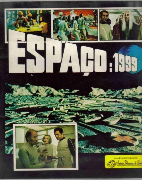 Caderneta de cromos ESPAÇO 1999
