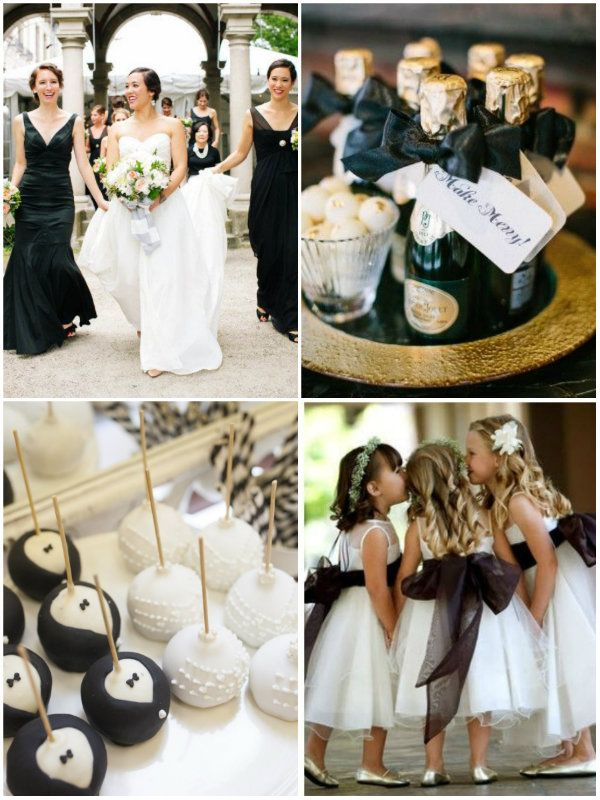 Classic Black And White Wedding And Wedding Invitations Inspirations -InvitesWeddings.com