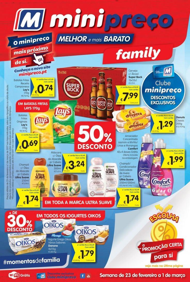Folheto #Minipreço versão Family em vigor a partir 23 Fevereiro #folheto #promoções