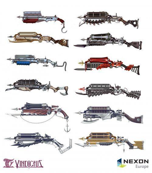 Kai Crossgun weapons