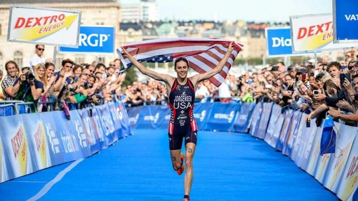 Written by Stefanie Peterson Gwen Jorgensen is concentrating all her energy towards one single objective. See how triathlete Gwen Jorgensen preps for the 2016 Rio Olympic Games before taking gold!