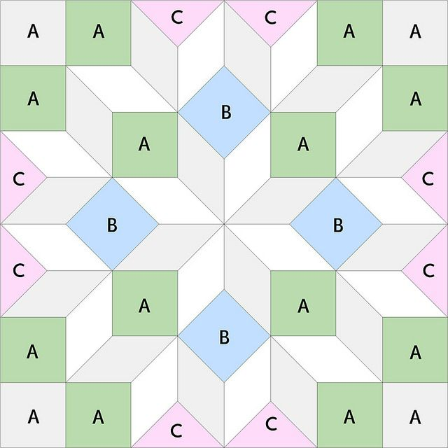 Background Pieces by RhubarbPatch, via Flickr (Looks like a really good exercise in piecing and understanding relationships of shapes.)