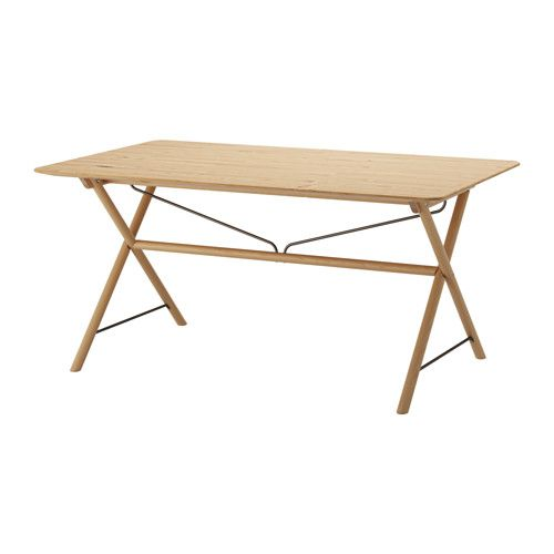 dalshult timmerhult tafel ikea massief hout is een slijtvast natuurmateriaal dat bestand is. Black Bedroom Furniture Sets. Home Design Ideas
