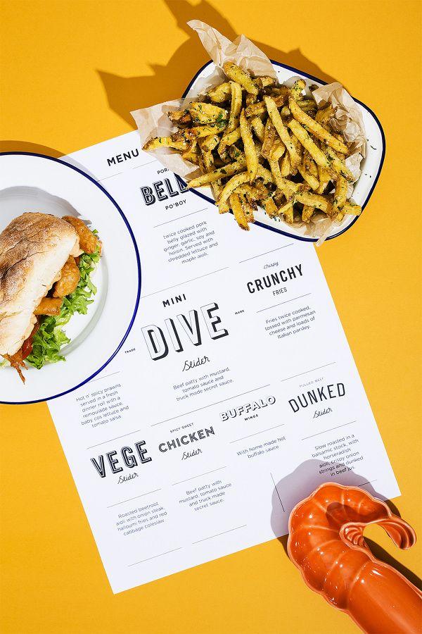 dive food