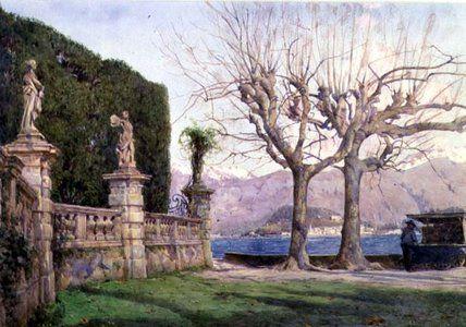 Villa Carlotta de Ernest Arthur Rowe (1863-1922, United Kingdom)