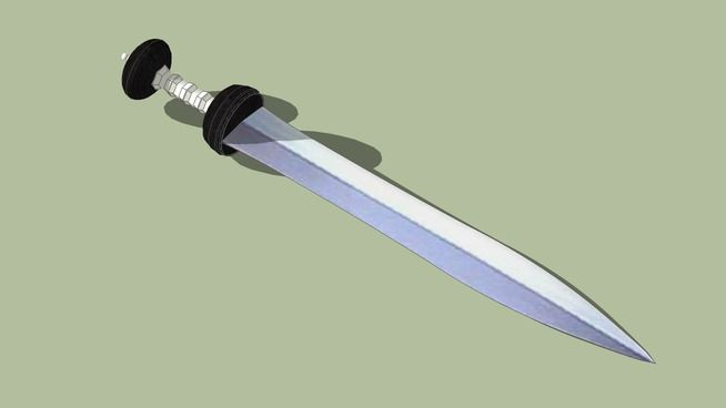 Large preview of 3D Model of Gladius hispaniensis